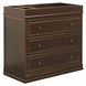 Million Dollar Baby Louis 3-Drawer Changer Dresser - Espresso