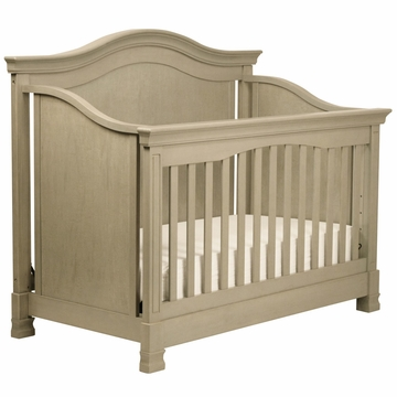Million Dollar Baby Louis 4-in-1 Convertible Crib with Toddler Rail - Avon Grey