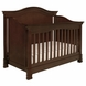 Million Dollar Baby Louis 4-in-1 Convertible Crib with Toddler Rail - Espresso