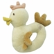 MiYim Simply Organic Cotton Chicken Rattle in Beige