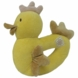 MiYim Simply Organic Cotton Chicken Rattle in Yellow