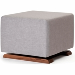 Monte Design Como Ottoman in Pebble Grey
