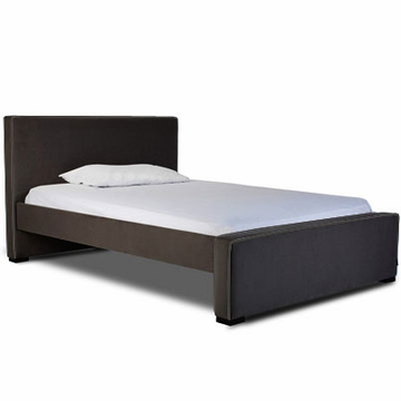 Monte Design Dorma Double (Full Size) Bed in Black