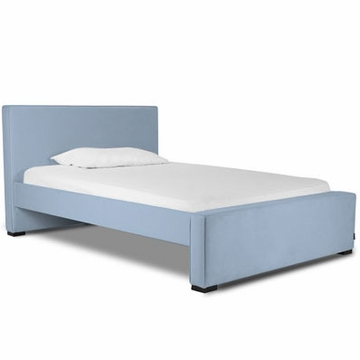 Monte Design Dorma Double (Full Size) Bed in Light Blue