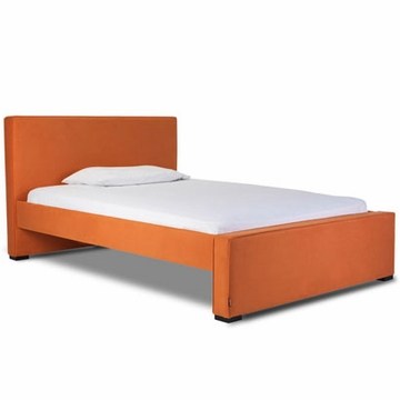 Monte Design Dorma Double (Full Size) Bed in Orange