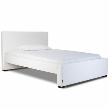 Monte Design Dorma Double (Full Size) Bed in White