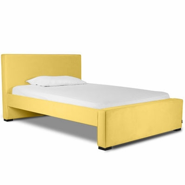 Monte Design Dorma Double (Full Size) Bed in Yellow