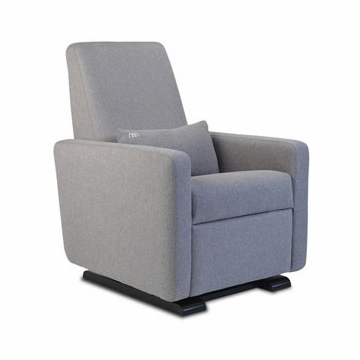 Monte Design Grano Glider Recliner in Heather Grey