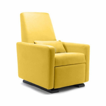 Monte Design Grano Glider Recliner in Yellow