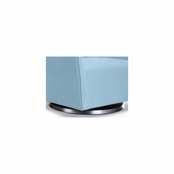 Monte Design Grazia Ottoman in Light Blue