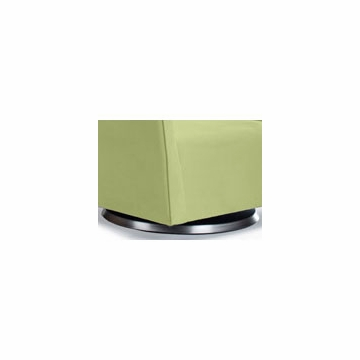 Monte Design Grazia Ottoman in Lime Green