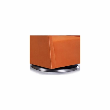 Monte Design Grazia Ottoman in Orange