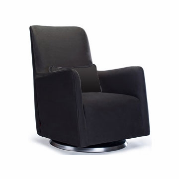 Monte Design Grazia Swivel Glider in Black
