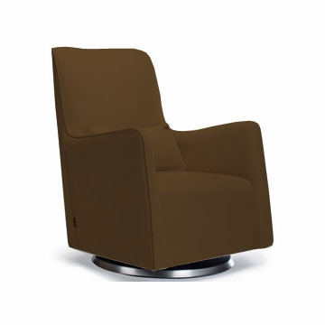 Monte Design Grazia Swivel Glider in Brown