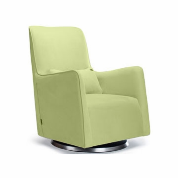 Monte Design Grazia Swivel Glider in Lime Green