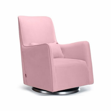 Monte Design Grazia Swivel Glider in Pink