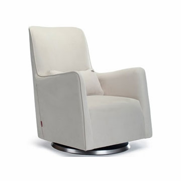 Monte Design Grazia Swivel Glider in Stone