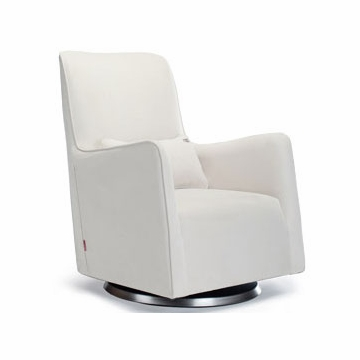 Monte Design Grazia Swivel Glider in White