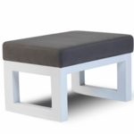 Monte Design Joya Ottoman in Charcoal