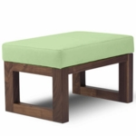 Monte Design Joya Ottoman in Lime Green