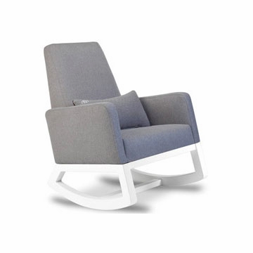 Monte Design Joya Rocker White Base in Heather Grey