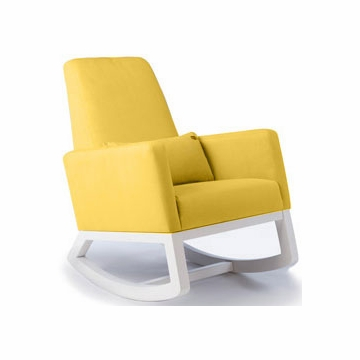 Monte Design Joya Rocker White Base in Yellow