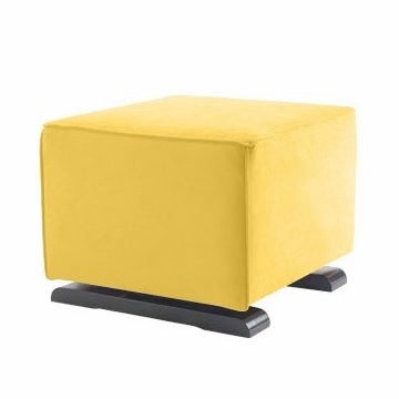 Monte Design Luca Ottoman in Yellow