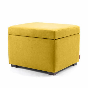 Monte Design Storage Ottoman in Yellow