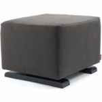 Monte Design Vola Ottoman in Charcoal
