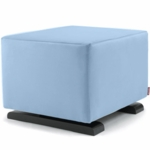 Monte Design Vola Ottoman in Light Blue