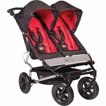 Mountain Buggy 2013 Duet Stroller - Chilli