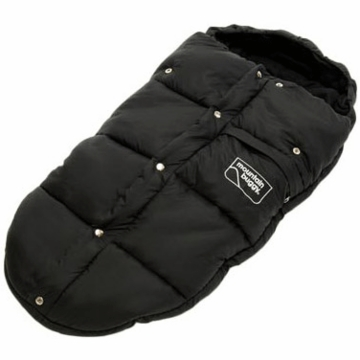 Mountain Buggy Sleeping Bag in Black with Cram Bag