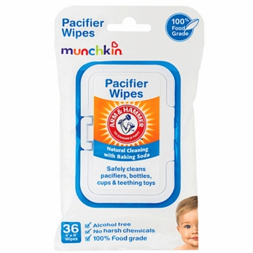 Munchkin Arm & Hammer Pacifier Wipes - 36 Pack