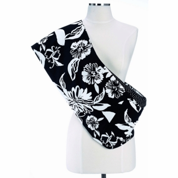 Munchkin Jelly Bean Reversible Sling in Licorice Blossom - Small/Medium