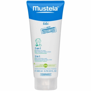 Mustela 2-in-1 Hair and Body Wash 6.8 oz