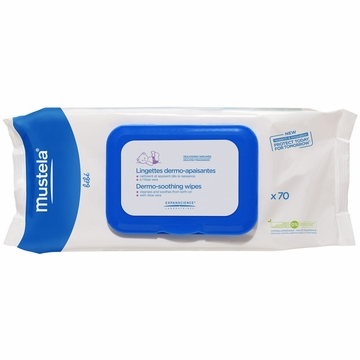Mustela Dermo Soothing Wipes - Delicately Fragranced