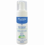 Mustela Foam Shampoo for Newborns 5.1 oz