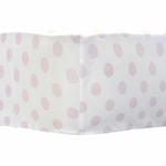 My Baby Sam Chevron Baby Pink Crib Sheet