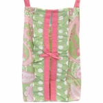My Baby Sam Pixie Baby Pink Diaper Stacker