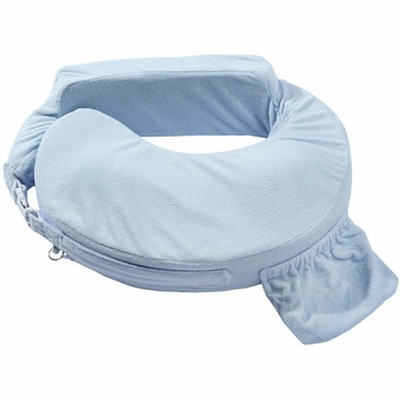 My Brest Friend Deluxe Wearable Nursing Pillow in Blue