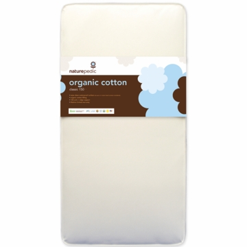 Naturepedic MC20 No-Compromise Organic Cotton Classic Baby Mattress