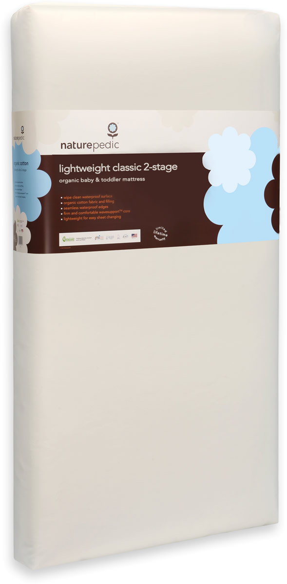 Naturepedic No-Compromise Lightweight Organic Classic Mattress- Stage 2