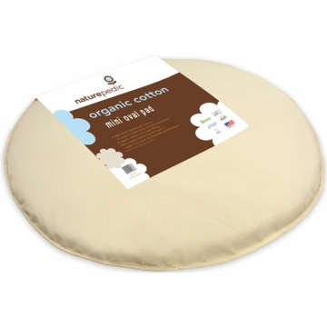 Naturepedic Organic Cotton Stokki Sleepi Mini Mattress 23x29x1 - Natural