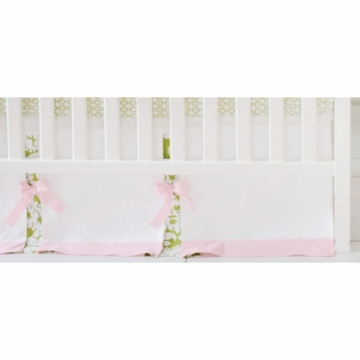 New Arrivals Bloom in Apple Crib Skirt