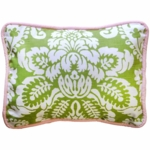 New Arrivals Bloom in Apple Throw Pillow