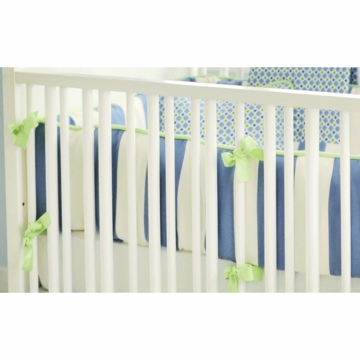 New Arrivals Boardwalk Crib Bumper