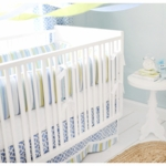 New Arrivals By the Bay 4 Piece Baby Crib Bedding Set