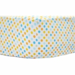 New Arrivals Carnival Crib Sheet