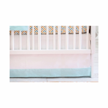 New Arrivals Carnival Crib Skirt