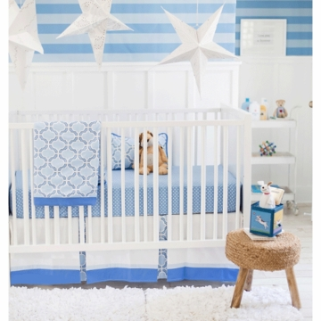 New Arrivals Carousel 2 Piece Crib Bedding Set